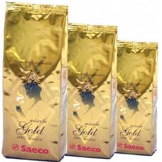 """Кофе зерно Saeco """"Gold"""" 0,25 кг."""
