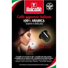 "Капсулы Italcaffe ""Espresso 100% arabica"" 10 шт. для кофемашин Nespresso"