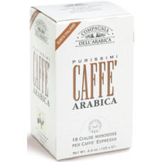 "Кофе в чалдах Compagnia Dell` Arabica ""Purissimi Arabica"""