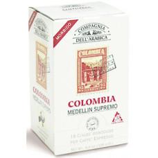 """Кофе в чалдах Compagnia Dell` Arabica  """"Colombia Medellin Supremo"""""""