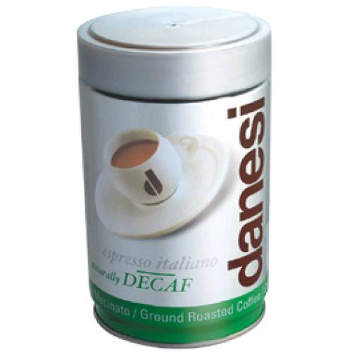Кофе молотый Danesi Decaf без кофеина