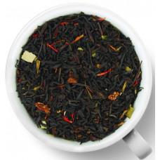 Чай черный ароматизированный Gutenberg Клубника со сливками