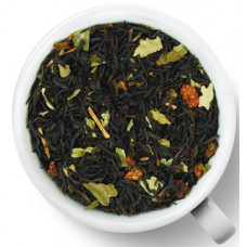 Чай черный ароматизированный Gutenberg Престиж Земляника со сливками
