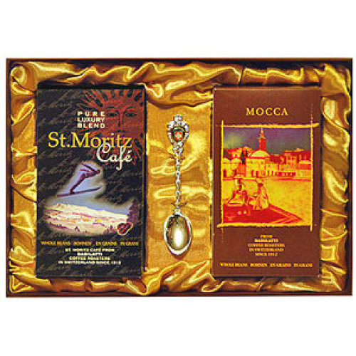 Подарочный набор St.Moritz (зерно) + Mocca (зерно)