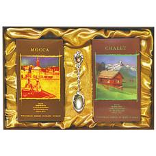 Подарочный набор Mocca (зерно) + Chalet (зерно)