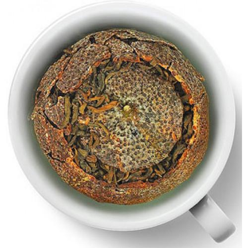 Чай черный Gutenberg Пуэр в мандарине