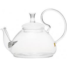 Стеклянный заварочный чайник Георгин 003825
